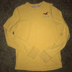 Young men's LS Hollister t shirt